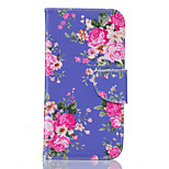 Medicago Pattern Card Phone Holster for Moto G4/G4 Plus