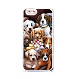 EFORCASE® Multi-Dog HD 3D stereoscopic TPU and PC Phone Case for  iphoneSE/5S/5/6/6S/6plus/6S plus