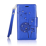 Dandelions Diamond Flip Leather Cases Cover For Asus Zenfone ZB551KL/ZE500KL Strap Wallet Phone Bags