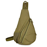 5 L Sling & Messenger Bag Camping & Hiking Outdoor Waterproof Green Nylon