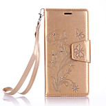 Lanyard Embossed Diamond Phone Holster Phone Shell for LG G5/K5/K7/K10