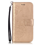 PU Leather Material Butterflies Embossed Phone Case for iPhone 6s Plus / 6 Plus/6S/6