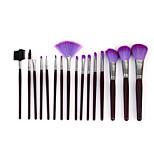 16 Pink Fur Brush Set Beauty Makeup Brush Tool