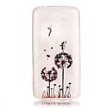 TPU + IMD Material Dandelion Pattern Slim Phone Case for  LG K8/K7/K4/G5