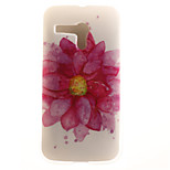 Flower Face Painting Pattern TPU Soft Case for Motorola Moto G XT1028/XT1031/XT1032