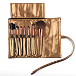 7 Makeup Brushes Set Five Colours