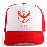 Pocket Little Monster Valor Red Adjustable Tennis Cap