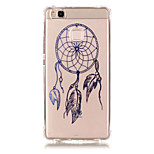 TPU Material Dreamcatcher Pattern Bronzing Phone Case for  Huawei  P9 Lite/P9/ P8 Lite