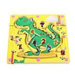 Wooden Magnetic Pen Beads Maze(Dinosaur)