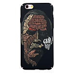 de volta Resistente ao Pó / Estampa Punk PC Duro Punk Graffiti Case Capa Para Apple iPhone 6s Plus/6 Plus / iPhone 6s/6 / iPhone SE/5s/5