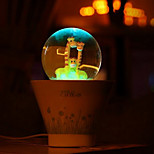 (2pcs Random Pattern) Happy Potted USB Colorful Night Light