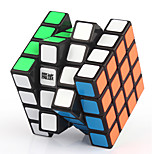 Yongjun® Magic Cube 4*4*4 Flourescent / Professional Level Smooth Speed Cube Black / White Plastic Toys