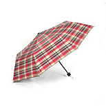 Partly Folding Umbrella Oversized Men'S Double Dual Female Sunscreen Uv Sun Umbrella Three Folding Umbrellas