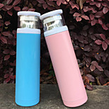 1Pc 500Ml Stainless Steel Vacuum Cup Portable Bottle Random Color
