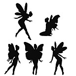 Fashion The Cute Little Elf Pattern PVC Bathroom or Bedroom or Glass Wall Sticker Home Decor
