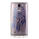 Back Pattern Dream Catcher TPU Soft Luxury Bronzing Case Cover For LG LG K10 / LG K8 / LG K7