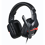 Danyin DT2206G Headset Stereo Surrounded Over-Ear Gaming Headband Earphone with Light for Computer PC Game
