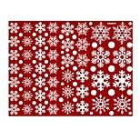 Year Christmas Window Glass Window Decoration Wall Sticker Christmas Snowflake Snowman Sticker