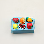 Fruits Chocolate Silicone Molds,Cake Molds,Soap Molds,Decoration Tools Bakeware