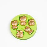 molde de silicone bolo decorações de chocolate do molde de polímero argila doces sugarcraft fondant