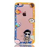 espalda Other Caricaturas TPU Suave personality Cubierta del caso para Apple iPhone 6s Plus/6 Plus / iPhone 6s/6