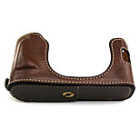 Fujifilm Camera X100/X100s Leather Protective Half Case/Bag