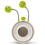 Green Creative Multifunction Mute Fan Table Lamp Desktop USB Night Light