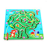 Wooden Magnetic Pen Beads Maze(Tree)