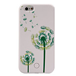 The New Dandelion Pattern Painted Camera Fill Light Phone Case For iPhone 5/5S/SE/6/6S/6 Plus/6S Plus