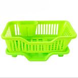 canasta de almacenamiento de plástico de cocina