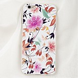 Back Shockproof Flower TPU Soft Shockproof Case Cover For Apple iPhone 6s Plus/6 Plus / iPhone 6s/6 528006155956