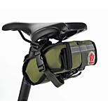 Bolsa para Guardabarro Impermeable / A Prueba de Golpes / Listo para vestir / Multifuncional Ciclismo Lienzo / Tejido Verde Militar
