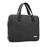 Woolen British Style Laptop Bag Notebook Computer Bags for Macbook Pro 15.4