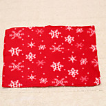 1pc New Year Red Christmas Snowflake Placemat for Dining Table Mat Placemat Decoration