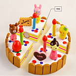 Cake Wooden Play House Toy