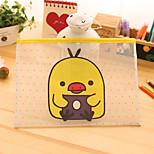 Yellow Duck Cute Ziplock Paper Bags(32*23.5cm)