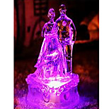 Colorful Night Light Newlyweds