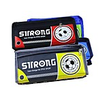 The New Version Of Men's Soccer Students Multifunction Large Capacity Pencil Case Stationery Bags