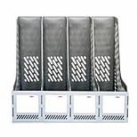 Four Columns Plastic Documents Storage Baskets
