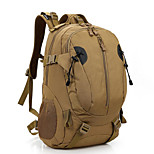 30 L Rucksack Camping & Hiking Outdoor Waterproof Brown Nylon