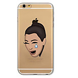 torna altra copertura del fumetto Kardashian TPU caso per 6s iPhone di Apple plus / 6 plus / iPhone 6S / 6