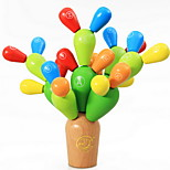 Cactus Wooden Blocks Educational Toy
