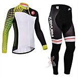 KEIYUEM®Others Spring/Summer/Autumn Long Sleeve Cycling Jersey+ Pants Ropa Ciclismo Cycling Clothing Suits #L1