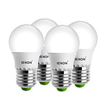 IENON® 4 pcs 3W E27 LED Globe Bulbs G45 6 SMD 240-270 lm Warm White / Cool White Decorative AC 100-240 V