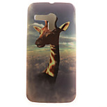 Giraffe Painting Pattern TPU Soft Case for Motorola Moto G XT1028/XT1031/XT1032