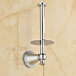 Toilet Paper Holder / Polished Brass / Wall Mounted /10*12*20 /Brass /Antique /10 12 0.314