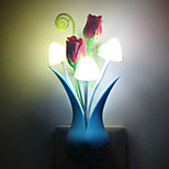 (Color Random) Mushroom Vase Light Control Night Light Energy Saving