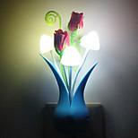 (Färg slumpvis) svamp vas ljusstyrning nattlampa energibesparing