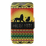 SZKINSTON® Hakuna Matata Pattern Full Body Leather with Stand for Huawei P9/P9 Plus/P9 Lite/G9 and Huawei Honor 4X/3C