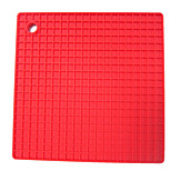 Thickening Grid Cellular Silicone Mat Slip Mat Pot Mat Insulation Mat A-03 5Pcs